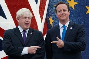 David Cameron & Boris Johnson